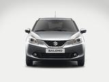 Pictures of Suzuki Baleno 2015
