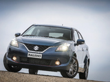 Suzuki Baleno S 2016 wallpapers