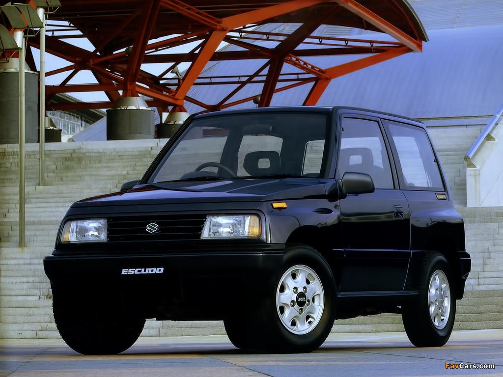 Images of Suzuki Escudo 1.6 (AT01W) 1988 (1024 x 768)
