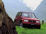 Photos of Suzuki Escudo 1.6 (AT01W) 1988–97