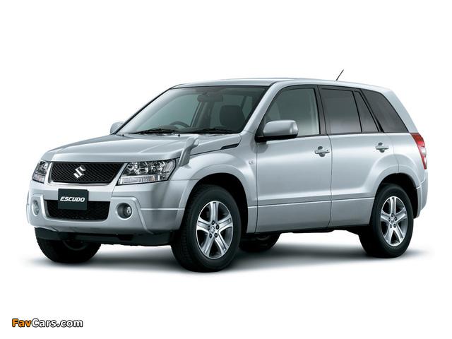 Suzuki Escudo (TD54W) 2005–12 images (640 x 480)