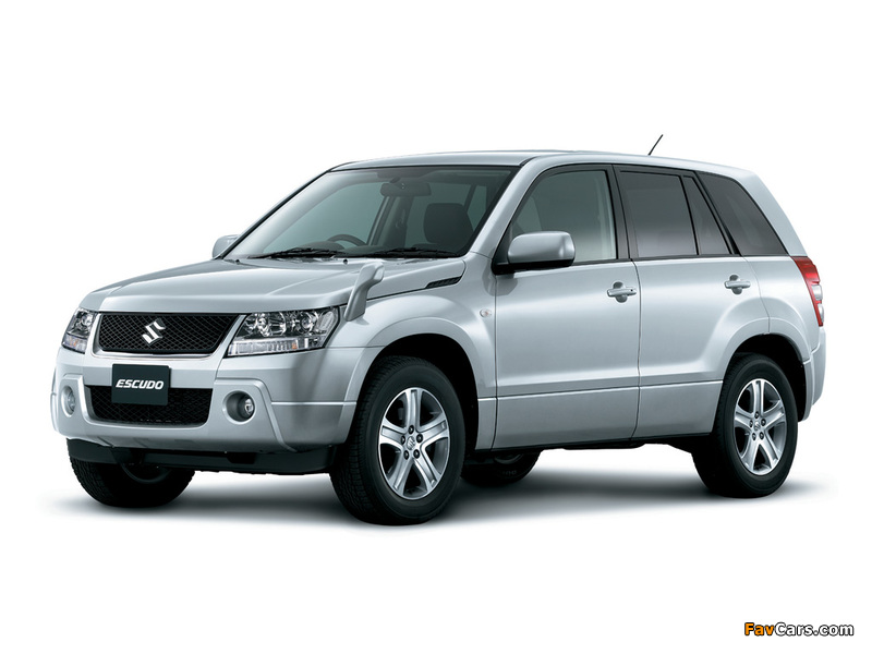 Suzuki Escudo (TD54W) 2005–12 images (800 x 600)