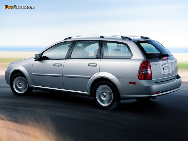 Suzuki Forenza Wagon 2006–08 wallpapers (640 x 480)