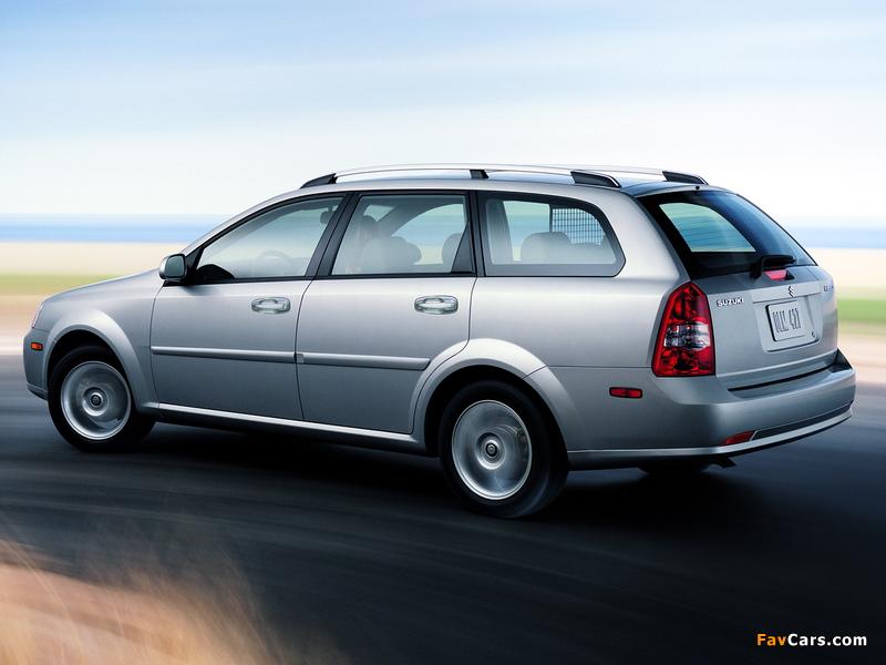 Suzuki Forenza Wagon 2006–08 wallpapers (800 x 600)