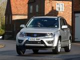 Photos of Suzuki Grand Vitara 5-door UK-spec 2012