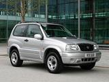 Suzuki Grand Vitara 3-door UK-spec 1998–2005 images
