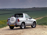 Suzuki Grand Vitara Canvas Top UK-spec 1998–2005 photos