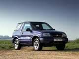Suzuki Grand Vitara Canvas Top UK-spec 1998–2005 pictures
