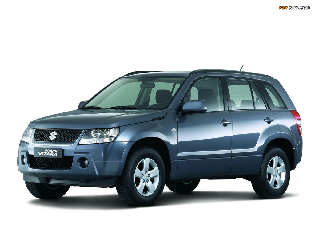 Suzuki Grand Vitara 5 Door 2005 08 Photos 1024x768