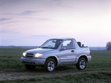 Suzuki Grand Vitara Canvas Top UK-spec 1998–2005 wallpapers