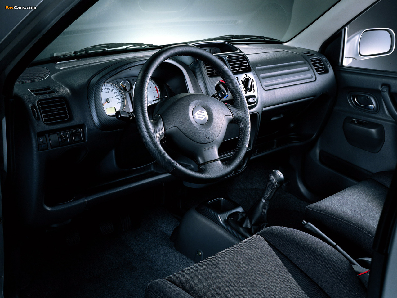 Images of Suzuki Ignis 3-door (HT51S) 2000–03 (1280 x 960)