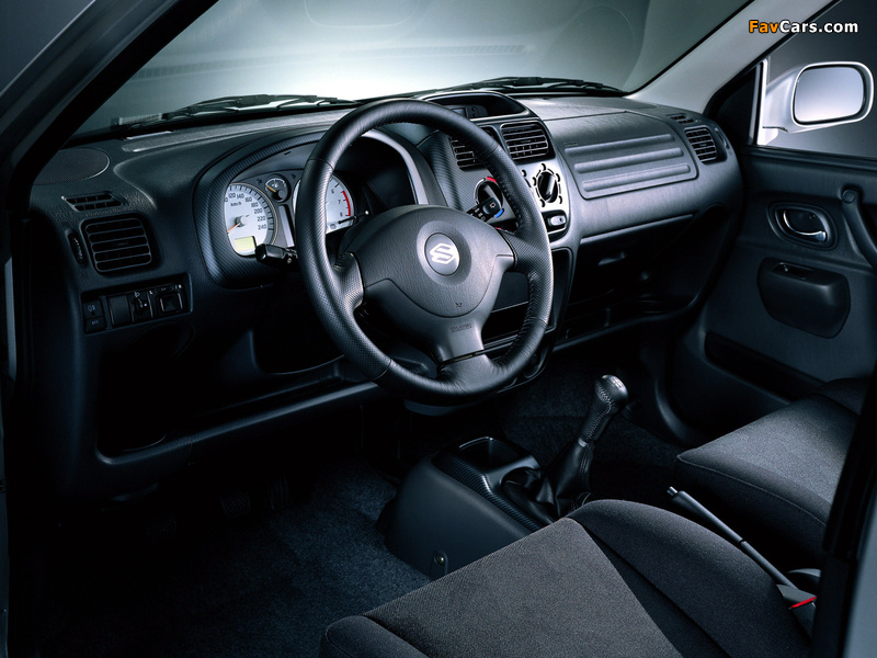Images of Suzuki Ignis 3-door (HT51S) 2000–03 (800 x 600)