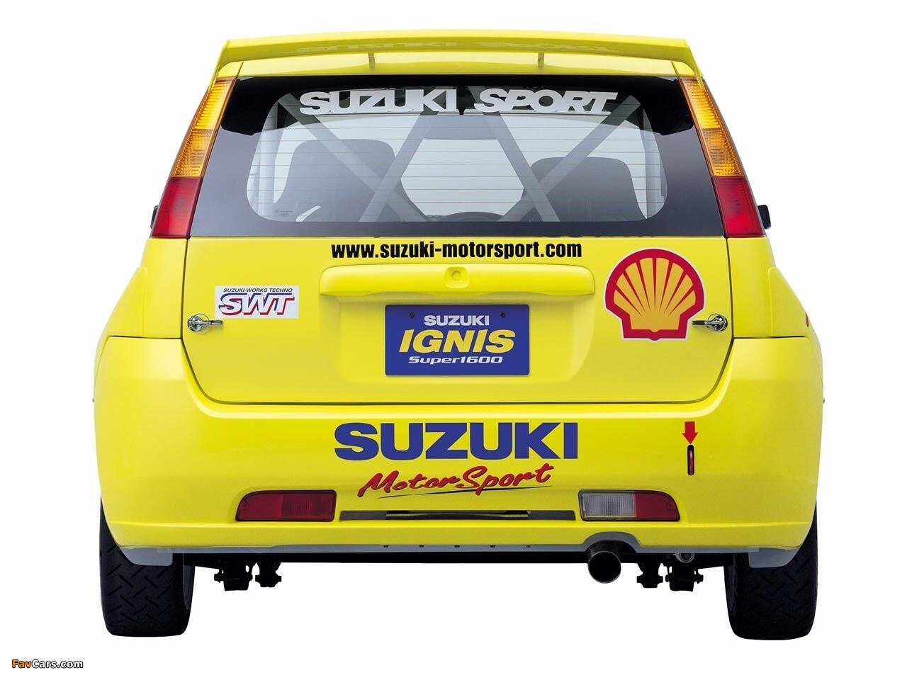 Images of Suzuki Ignis Super 1600 2004–06 (1280 x 960)