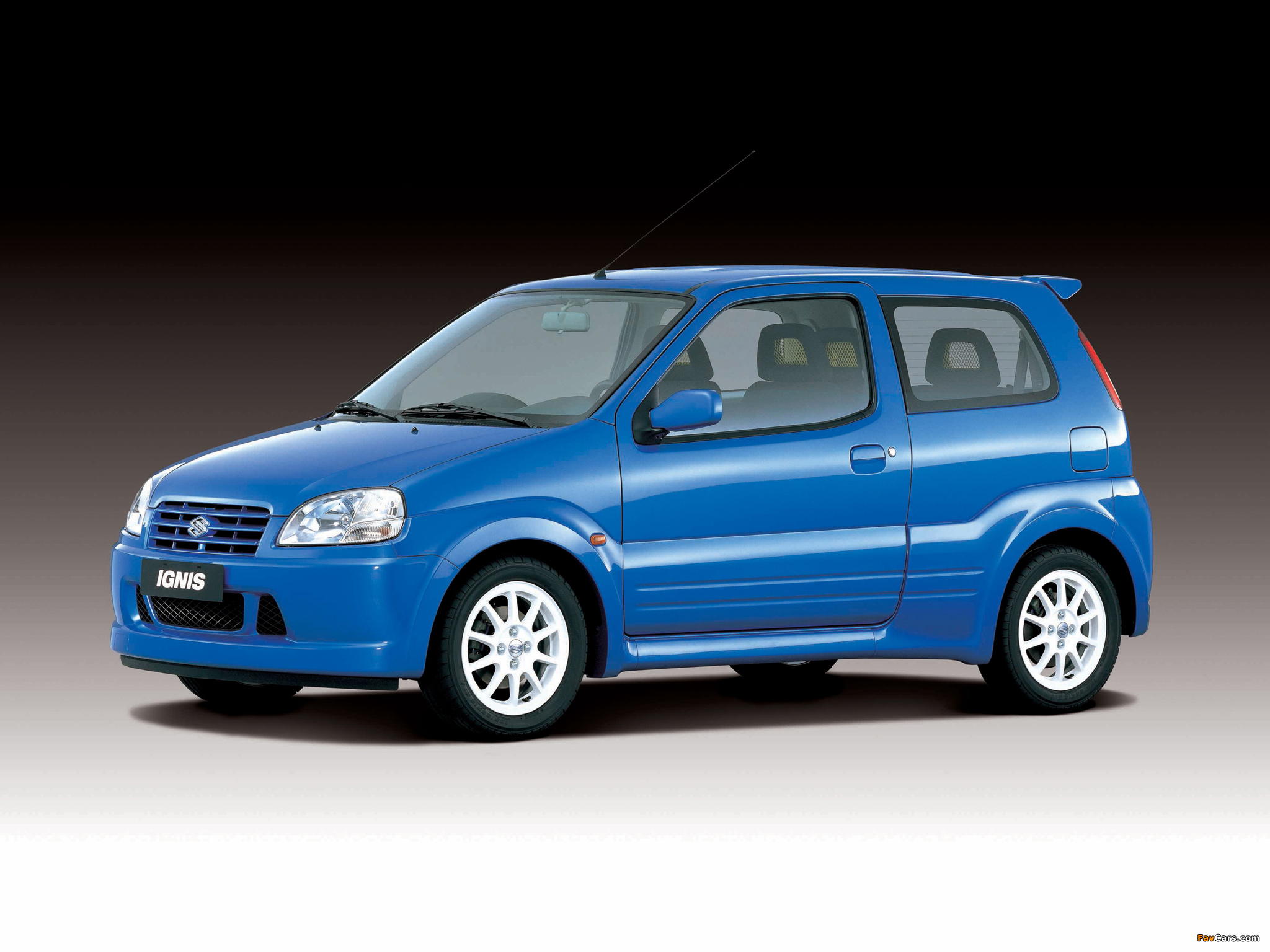 Suzuki Ignis Sport (HT51S) 2000–03 pictures (2048 x 1536)