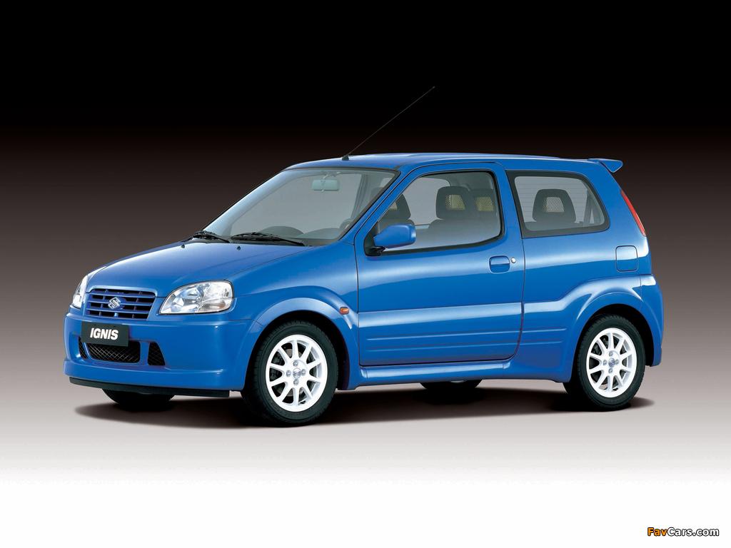 Suzuki Ignis Sport (HT51S) 2000–03 pictures (1024 x 768)