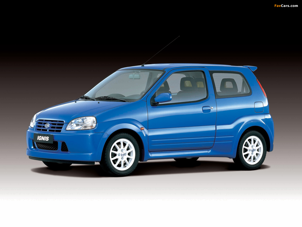 Suzuki Ignis Sport (HT51S) 2000–03 pictures (1280 x 960)