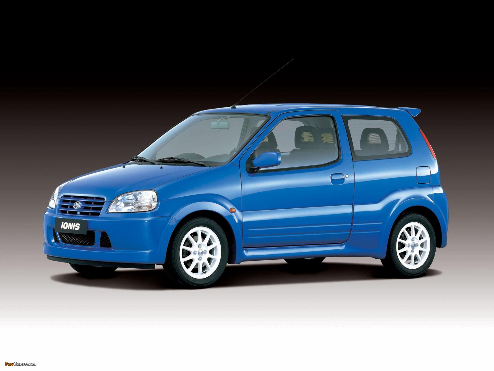 Suzuki Ignis Sport (HT51S) 2000–03 pictures (1600 x 1200)