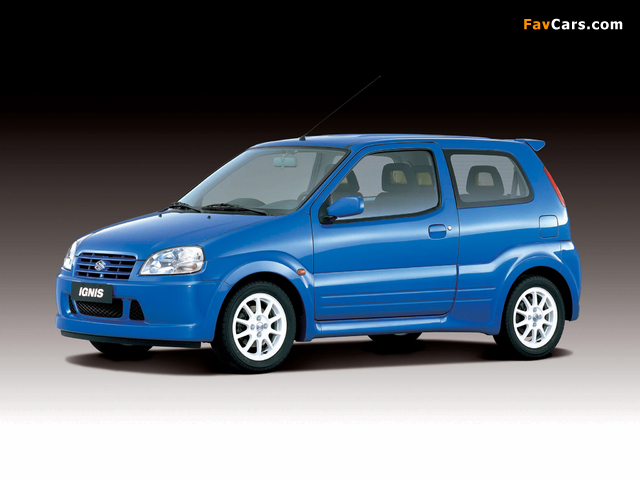 Suzuki Ignis Sport (HT51S) 2000–03 pictures (640 x 480)