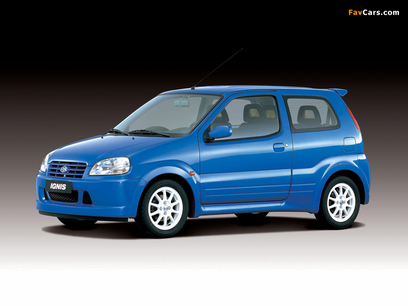Suzuki Ignis Sport (HT51S) 2000–03 pictures (800 x 600)