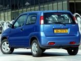 Suzuki Ignis 3-door (HT51S) 2000–03 wallpapers