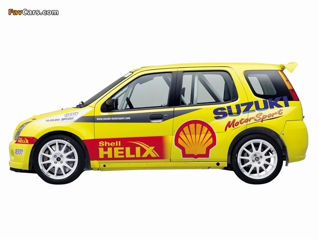 Suzuki Ignis Super 1600 2004–06 wallpapers (640 x 480)