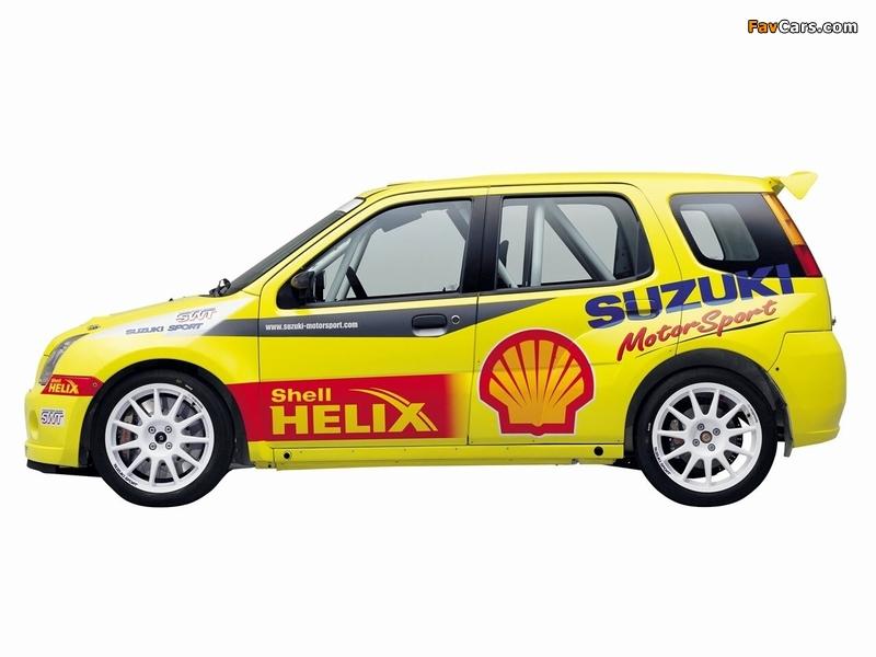 Suzuki Ignis Super 1600 2004–06 wallpapers (800 x 600)