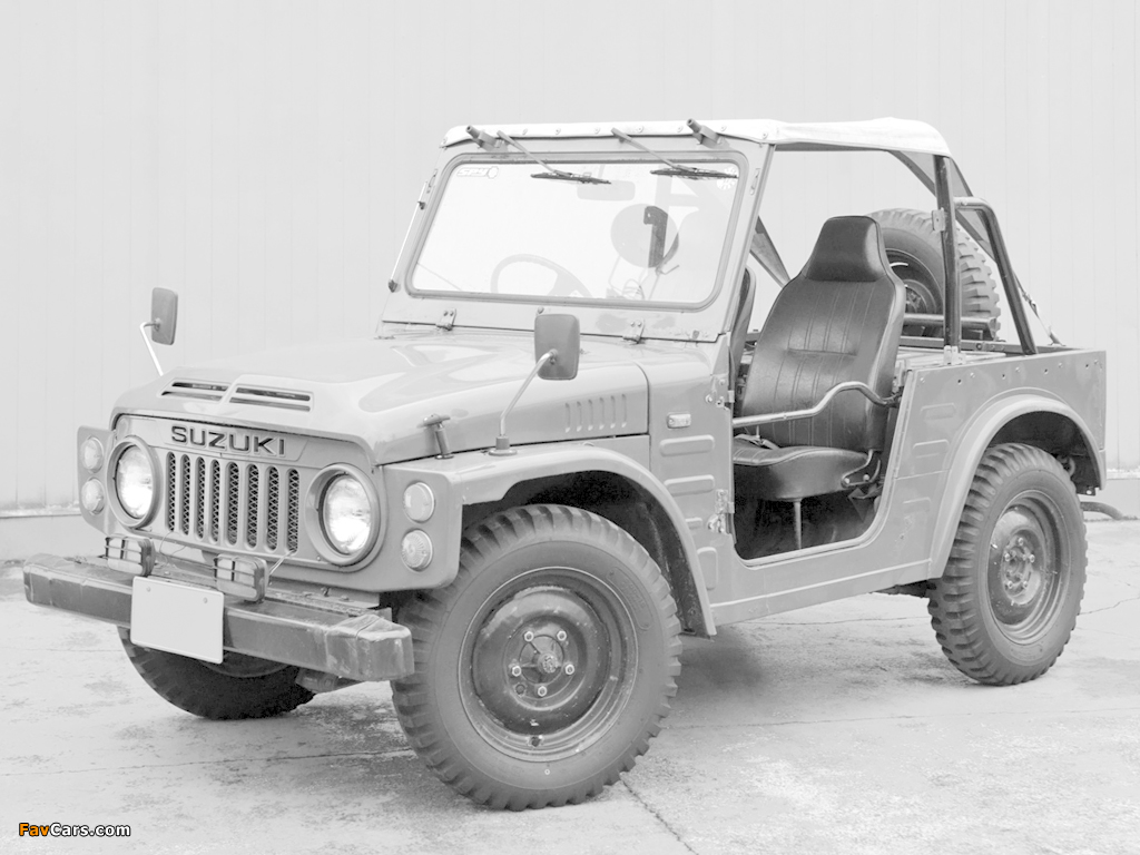 Photos Of Suzuki Jimny 55 Sj10 1976 81 1024x768