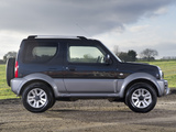 Photos of Suzuki Jimny UK-spec (JB43) 2012