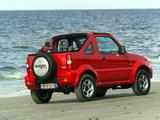 Suzuki Jimny Cabrio (JB43) 1999–2006 photos