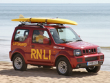Suzuki Jimny Beach Lifeguards (JB43) 2010–12 wallpapers