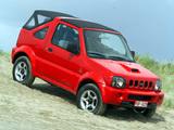 Suzuki Jimny Cabrio (JB43) 1999–2006 wallpapers