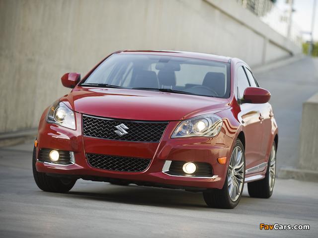 Suzuki Kizashi Sport US-spec 2010–12 photos (640 x 480)