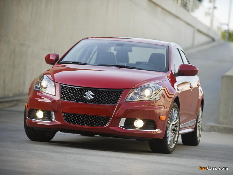 Suzuki Kizashi Sport US-spec 2010–12 photos (800 x 600)