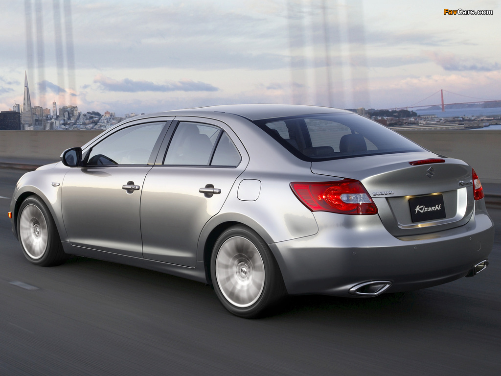 Suzuki Kizashi US-spec 2009 wallpapers (1024 x 768)