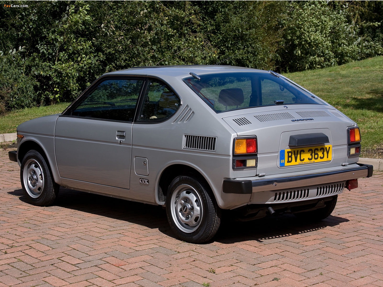 Suzuki SC100 GX 1978–82 images (1600 x 1200)