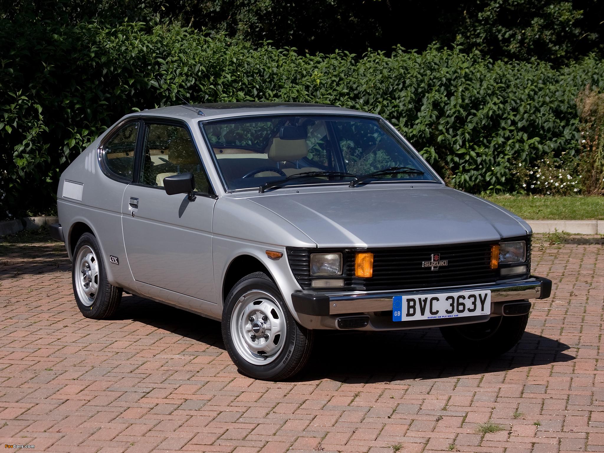 Suzuki SC100 GX 1978–82 images (2048 x 1536)