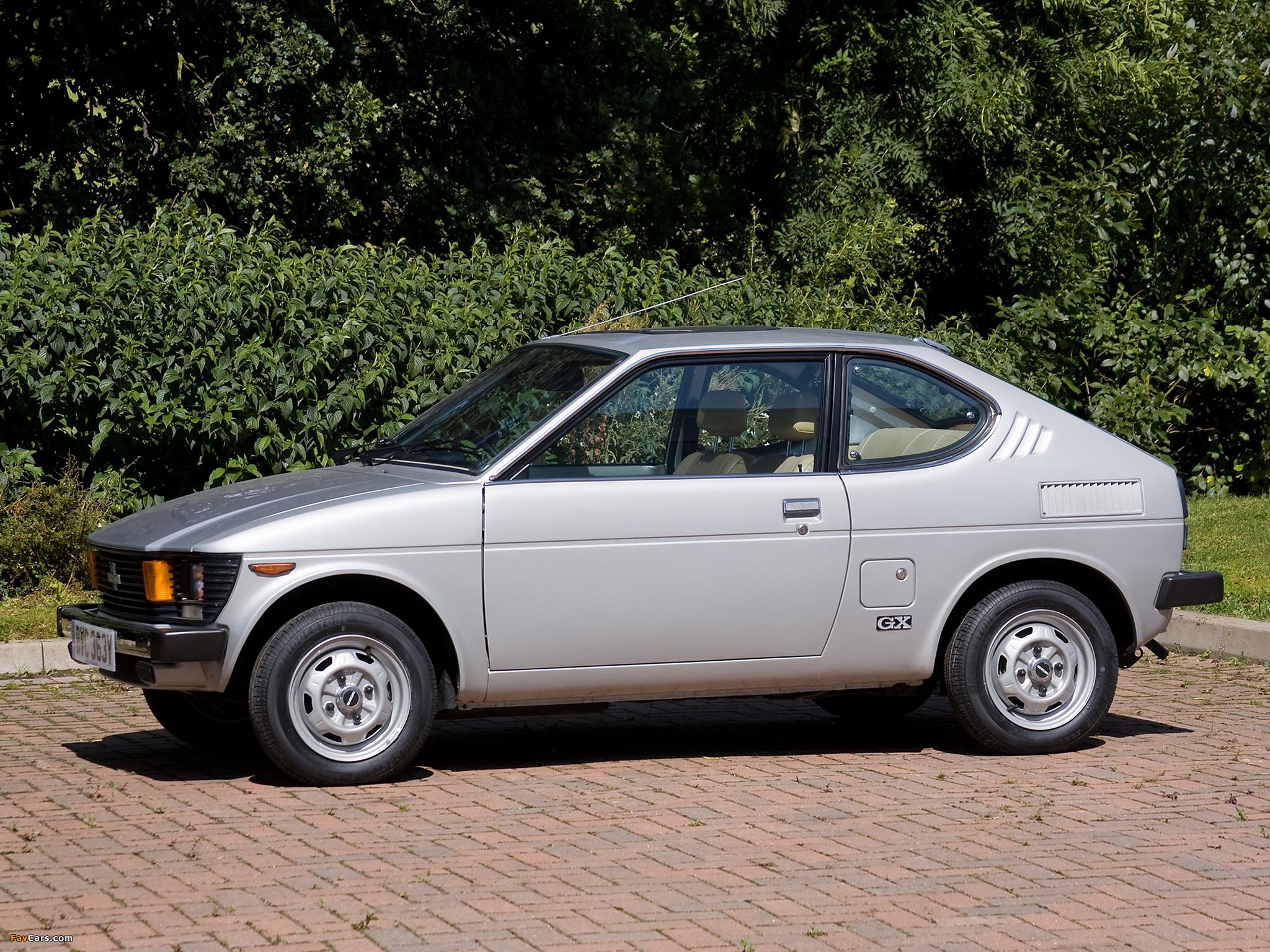 Suzuki SC100 GX 1978–82 photos (2048 x 1536)