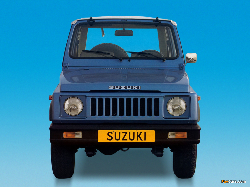 Suzuki SJ 410 Cabrio 1982–85 photos (1024 x 768)
