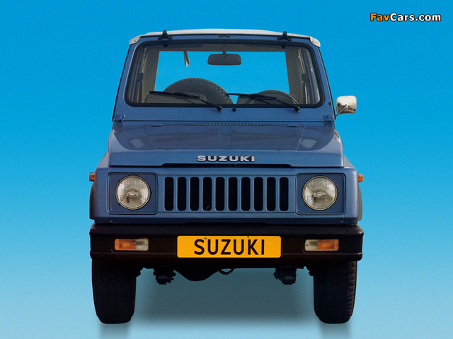 Suzuki SJ 410 Cabrio 1982–85 photos (640 x 480)