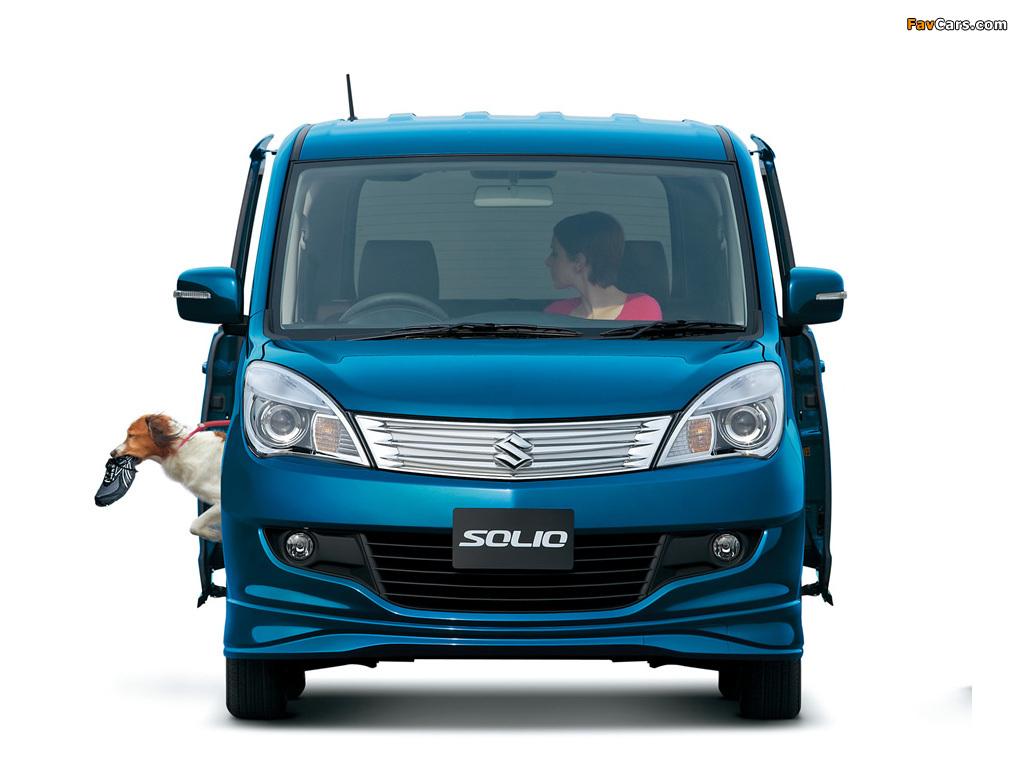 Pictures of Suzuki Solio (MA15S) 2011 (1024 x 768)