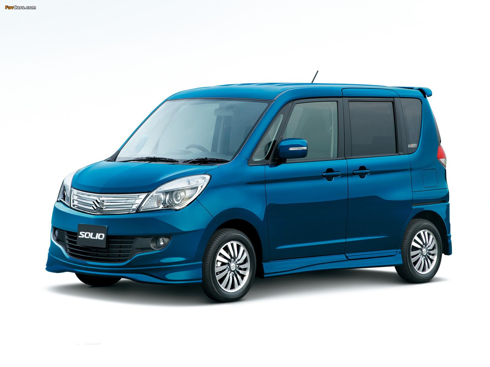 Suzuki Solio (MA15S) 2011 wallpapers (1600 x 1200)