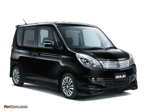 Suzuki Solio (MA15S) 2011 wallpapers (640 x 480)