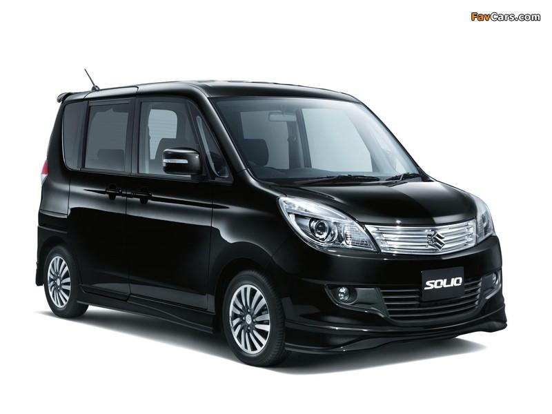 Suzuki Solio (MA15S) 2011 wallpapers (800 x 600)