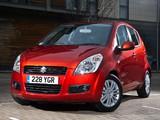 Photos of Suzuki Splash UK-spec 2008–12