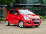 Photos of Suzuki Splash UK-spec 2012