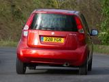 Pictures of Suzuki Splash UK-spec 2008–12