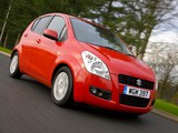 Pictures of Suzuki Splash UK-spec 2008–12