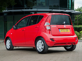 Suzuki Splash UK-spec 2012 wallpapers