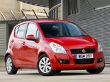 Suzuki Splash UK-spec 2008 wallpapers