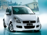 Suzuki Splash Limited JP-spec (XB32S) 2010 wallpapers